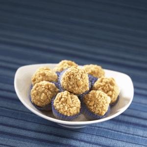 Trufas de crema de cacahuate