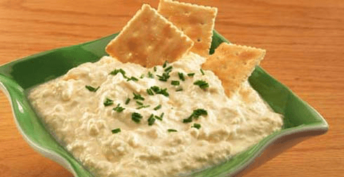 Dip de queso cottage