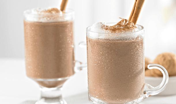 Malteada de chocolate y cappuccino