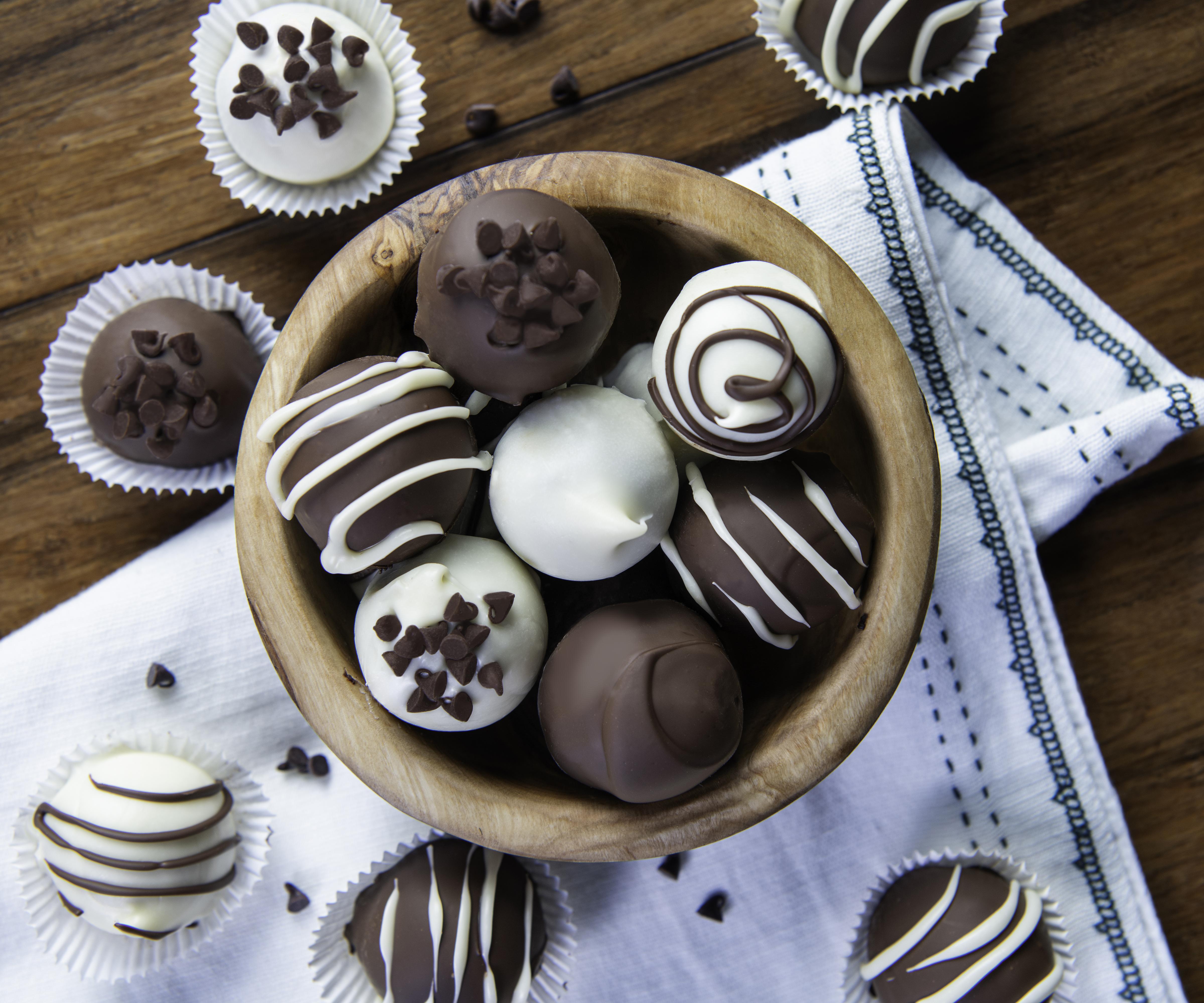Brownie Batter Truffles