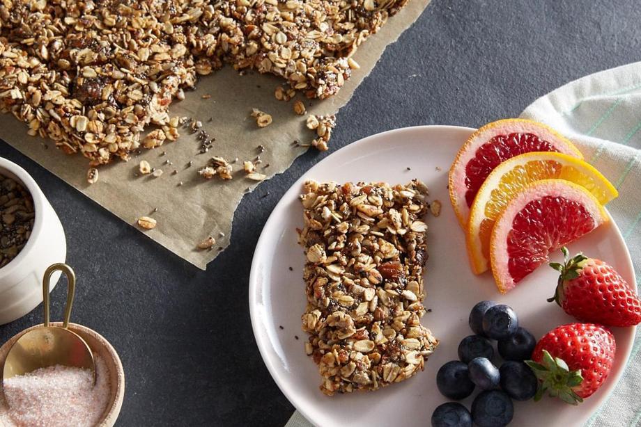 No-Bake Oat, Nut & Seed Bars
