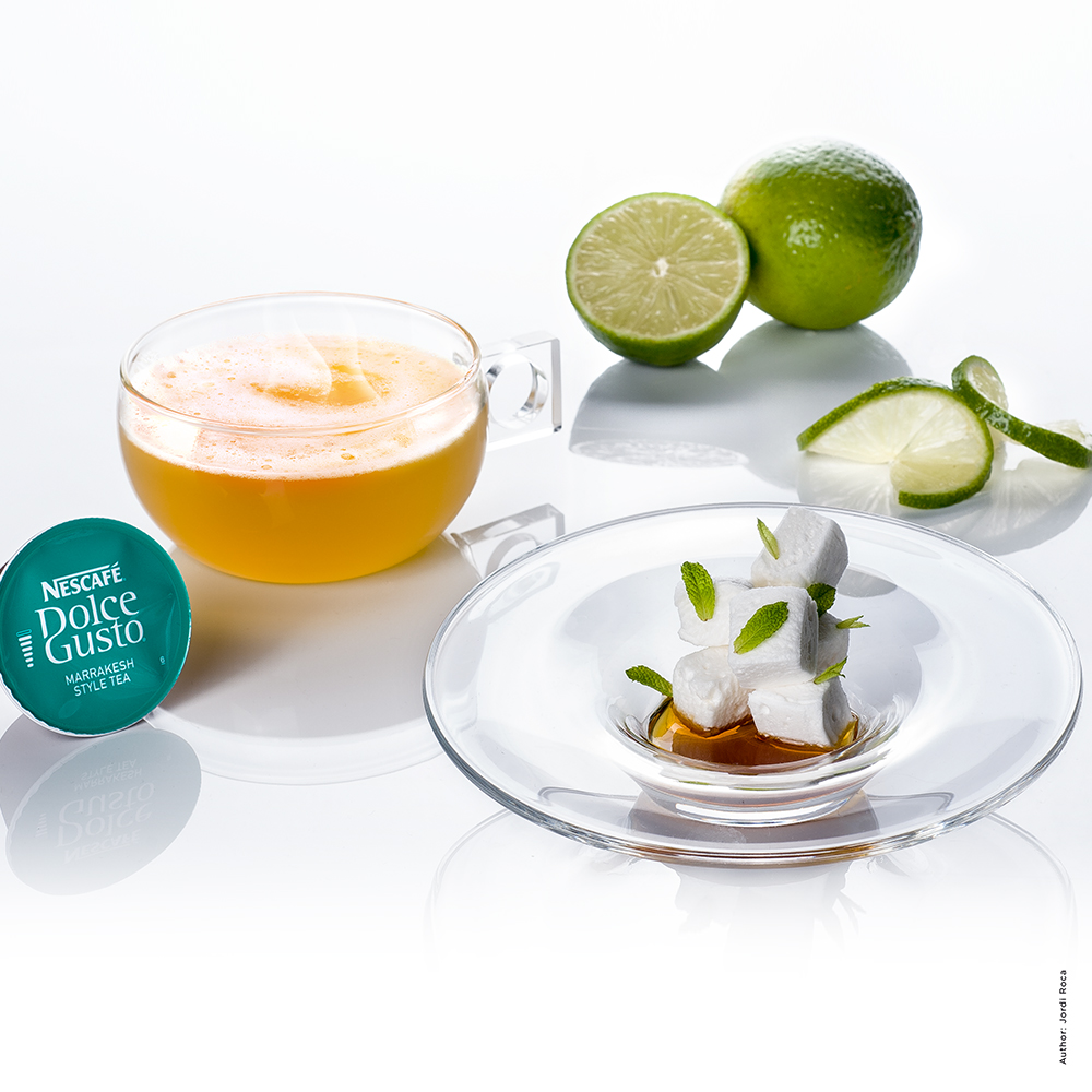 Green Tea and Lime Mousse