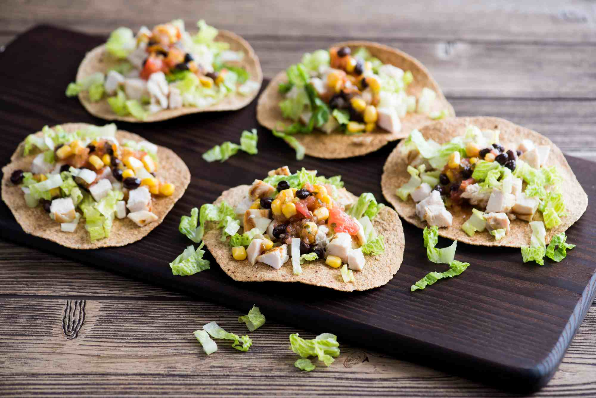 Chicken Salad Tostadas image