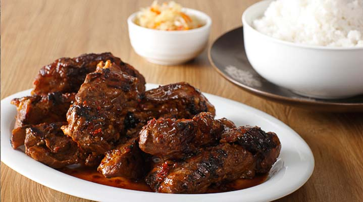 Chinese-Style Grilled Spareribs