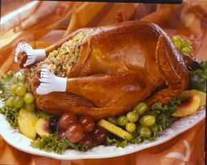 Baked Turkey with Stuffing
