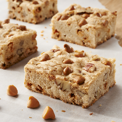 Chewy Butterscotch Brownies