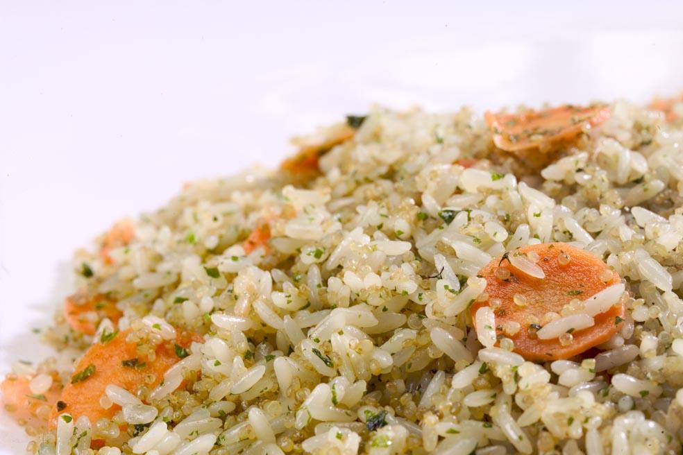 arroz con quinoa