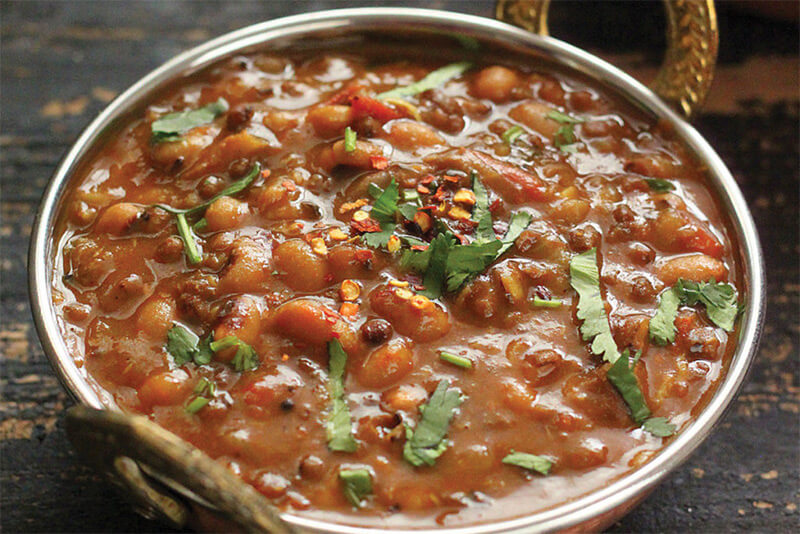 black eyed peas with seasoned seitan