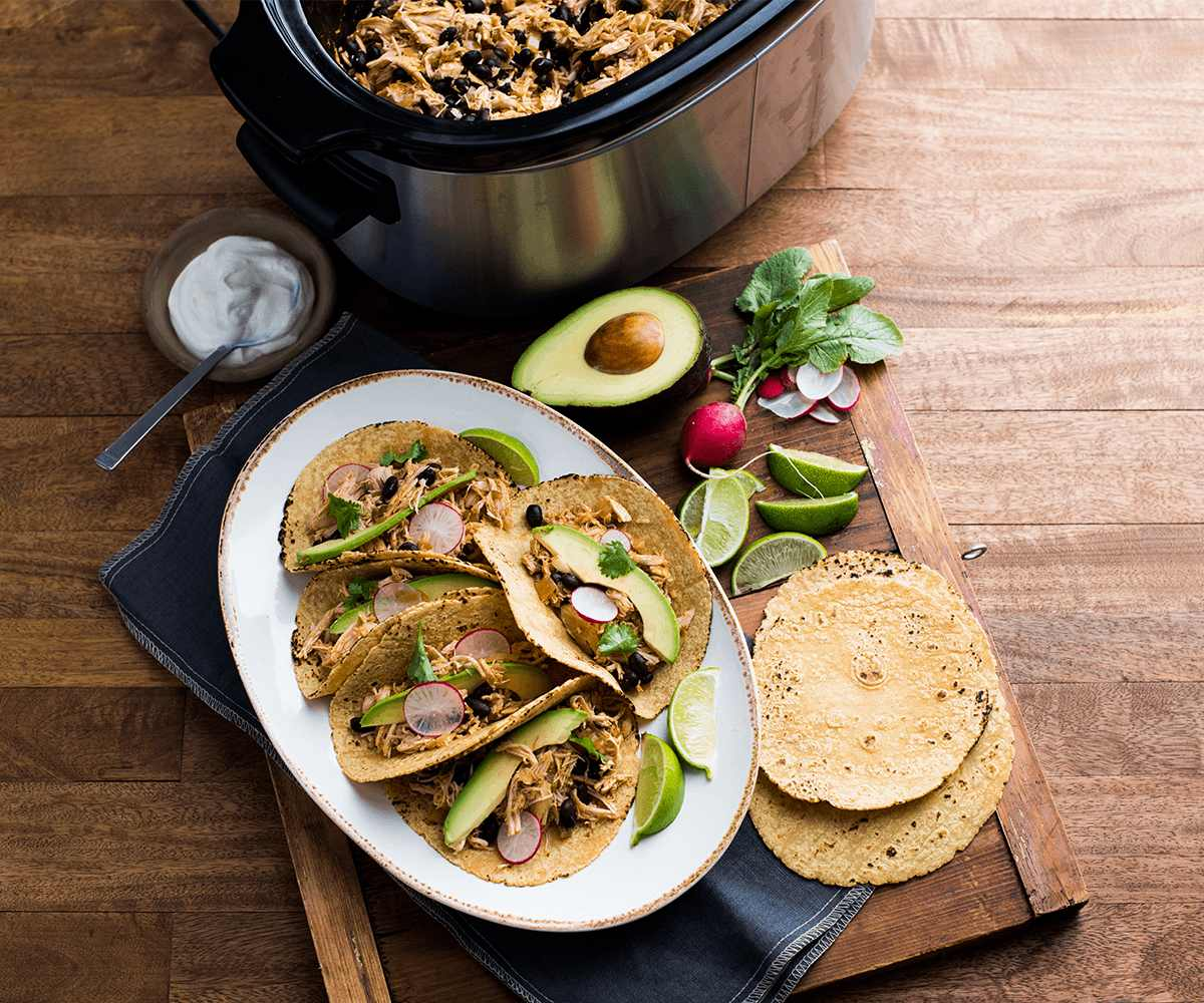 Slow Cooker Chicken Tacos image