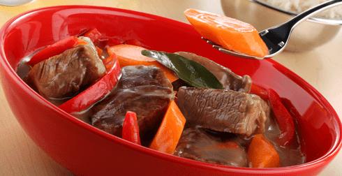 Carne a la olla
