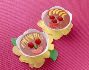 Gelatina choco-fresa