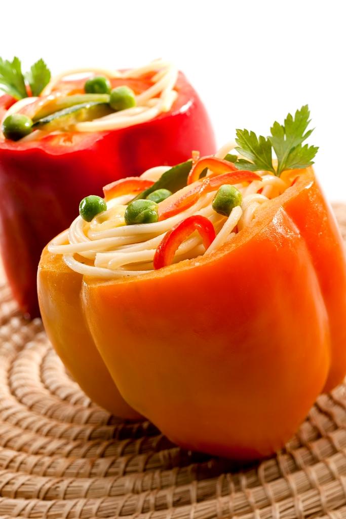 Spaghetti con verduras