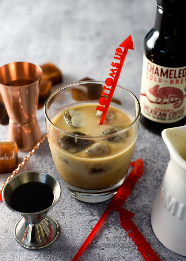 Chameleon Cold-Brew White Russian Cocktail