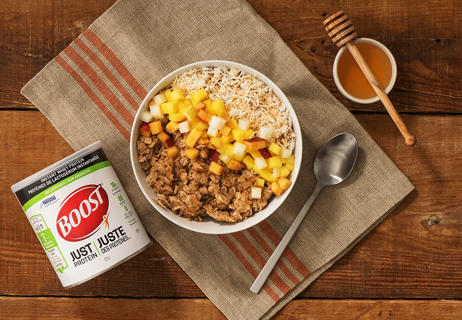 BOOST Just Protein Chai-Spice Power Bowl