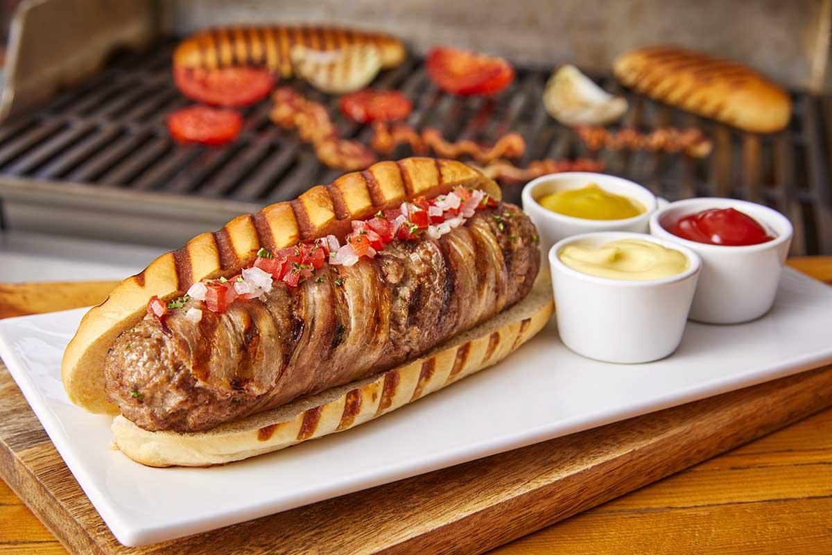 Hot dog - hamburguesa