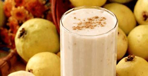 Bebida fresca de guayaba