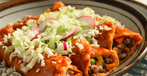 Enchiladas colimenses