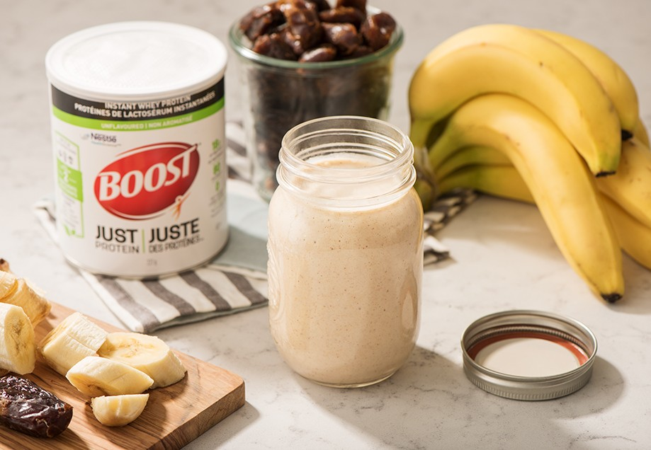 BOOST Just Protein Banana Nut Smoothie