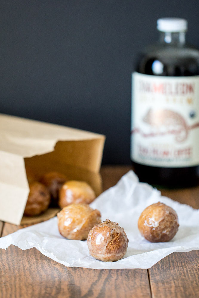 Chameleon Cold-Brew Pecan Concentrate Donut Holes