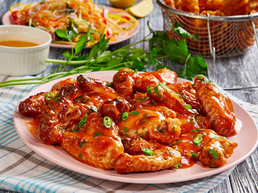 Sweet Chili Chicken Wings DO NOT USE IMAGE ANYWHERE ELSE