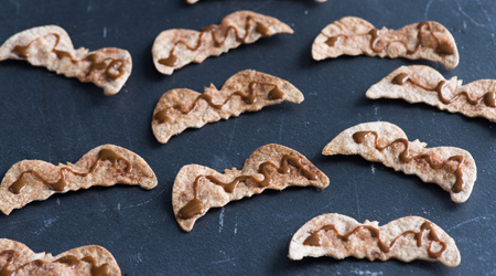 Dulce de Leche Churro Bat Chips