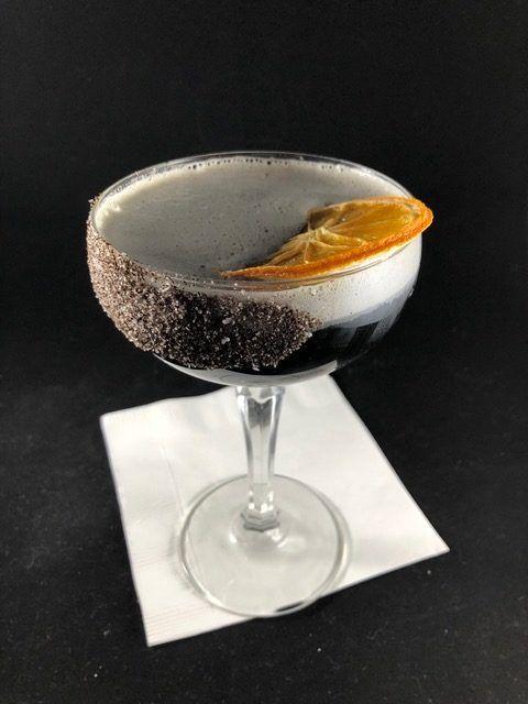 Liquor Lab's Midnight Martini