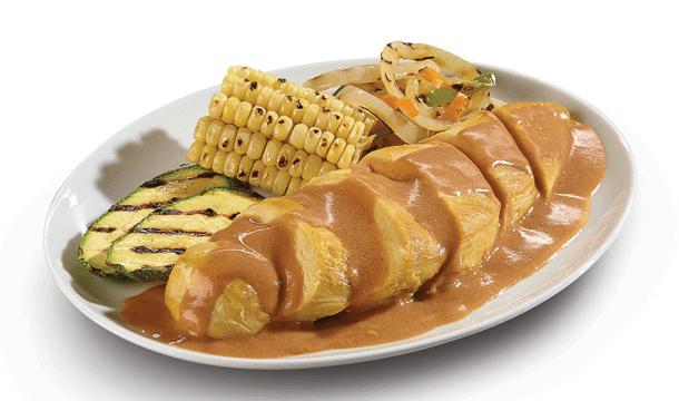 Pollo en salsa de BBQ