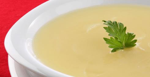 Sopa de Papa fría