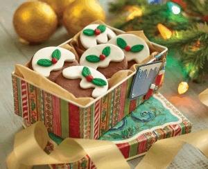 Galletas navideñas de cocoa y menta