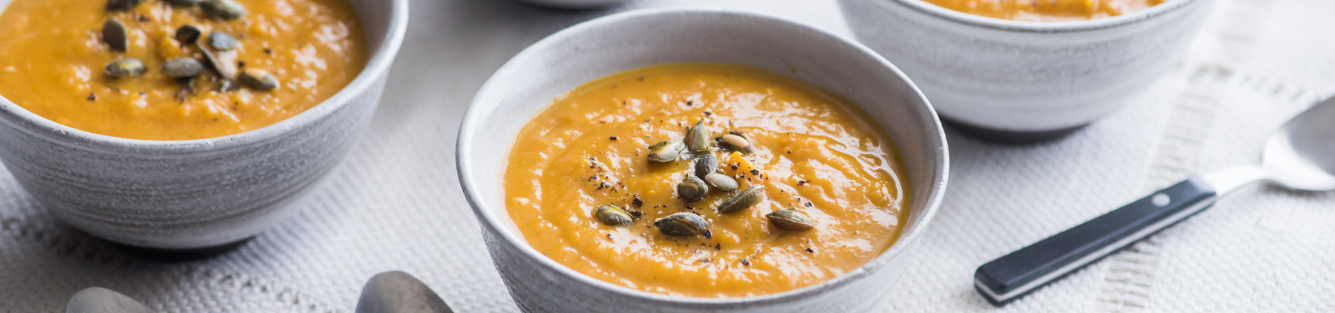 Creamy Pumpkin Curry Soup
