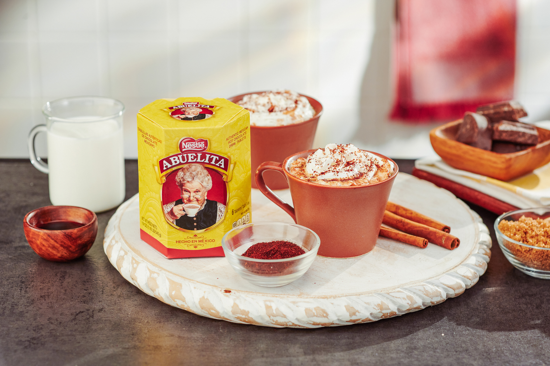 Spicy Abuelita Hot Chocolate