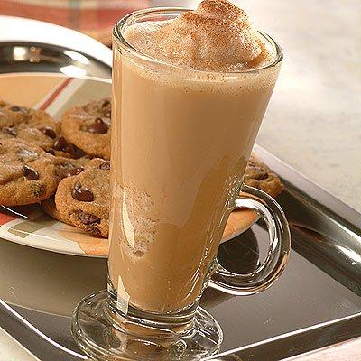 Blended Vanilla Cappuccino