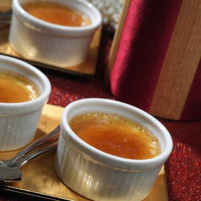Pumpkin Spice Crème Brûlée