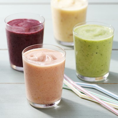 Blissful Fruit Smoothies