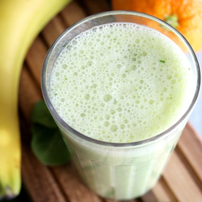 Tropical Fruit Bliss Green Smoothie