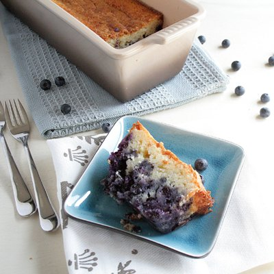 Yummy Blueberry Loaf Cake