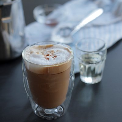 Cinnamon Sweet Cream Latte