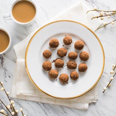 Café Mocha Chocolate Truffles