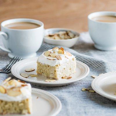 Caramel Almond Tres Leches Cake