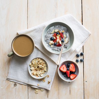 Vanilla Almond Chia Pudding