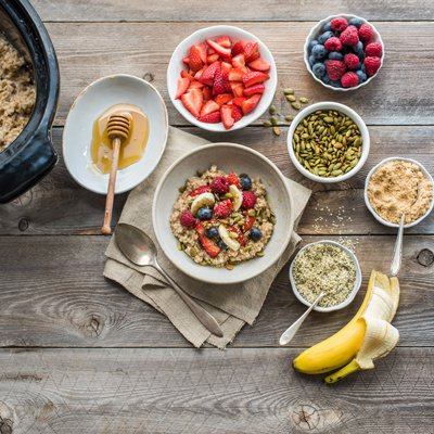 Slow Cooker Steel-Cut Oats