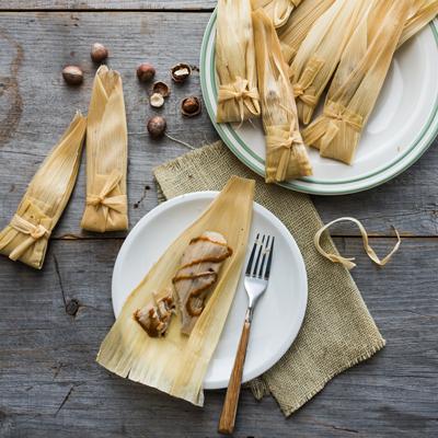 Sweet Hazelnut Tamales
