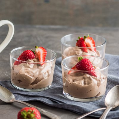 Easy Hot Cocoa Mousse