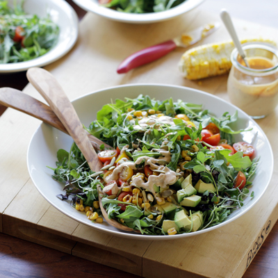 Chipotle Salad with Corn