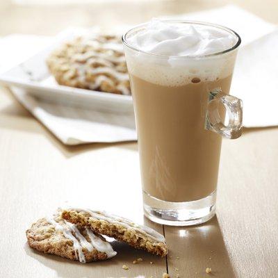 Café Latte con Vainilla y Jengibre