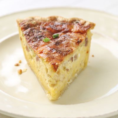 Ham and Swiss Quiche