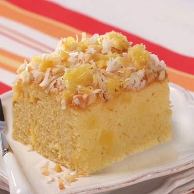 Tropical Sunshine Cake