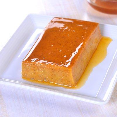 Pumpkin Caramel Flan