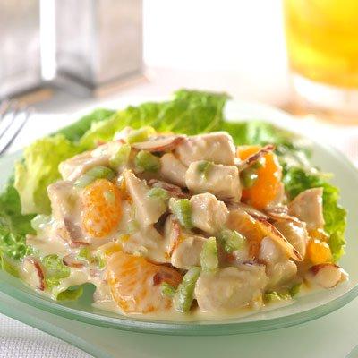 Crunchy Orange Chicken Salad