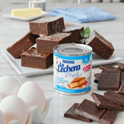 La Lechera and Chocolate Brownies